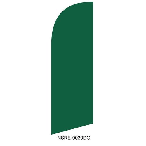 Dark Green 6ft Feather Flag