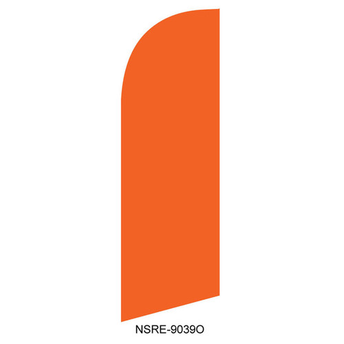 Orange 6ft Feather Flag