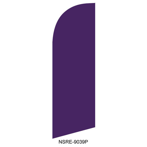 Purple 6ft Feather Flag