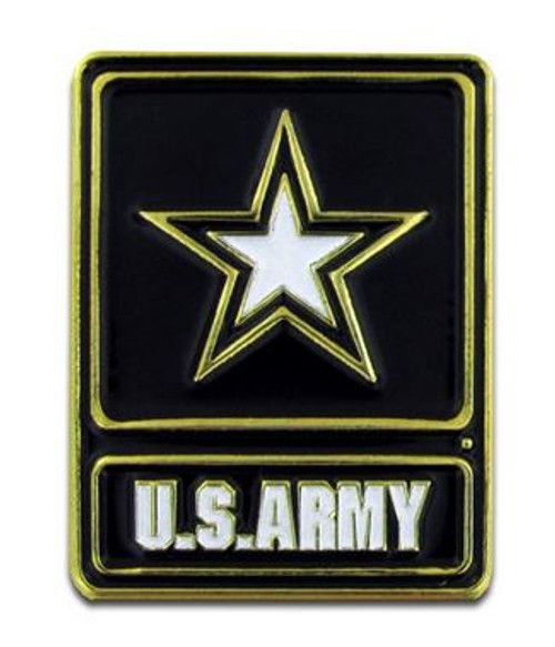 US Army Star Lapel Pin