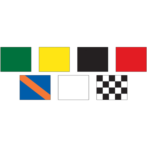 "Complete Auto Racing Flag Set 24"" x 30"""