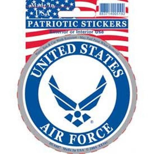 """Air Force circular decal (""""wings"""" logo)"""