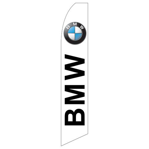 BMW Dealership Feather Flag (white)