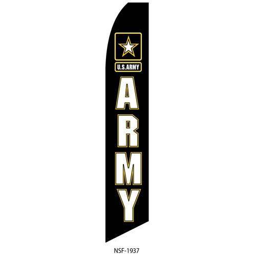 Army Feather Flag