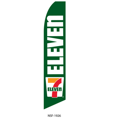 7 Eleven Feather Flag