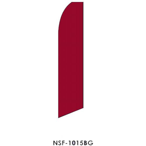 Burgundy Feather Flag