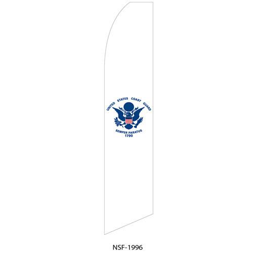Coast Guard Feather Flag