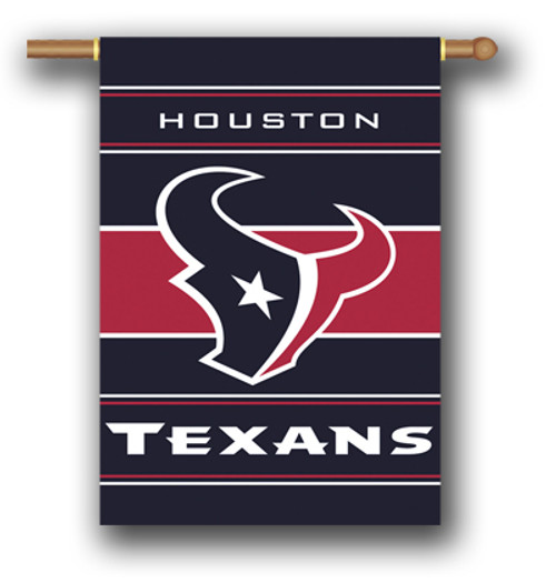 Houston Texans 2-Sided 28 X 40 House Banner