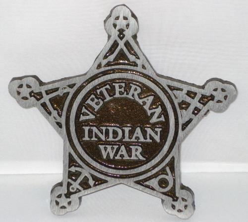 Indian War Grave Marker - Aluminum