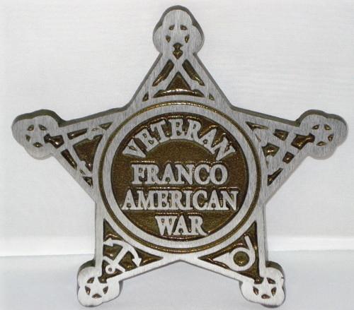 Franco American War Grave Marker - Aluminum