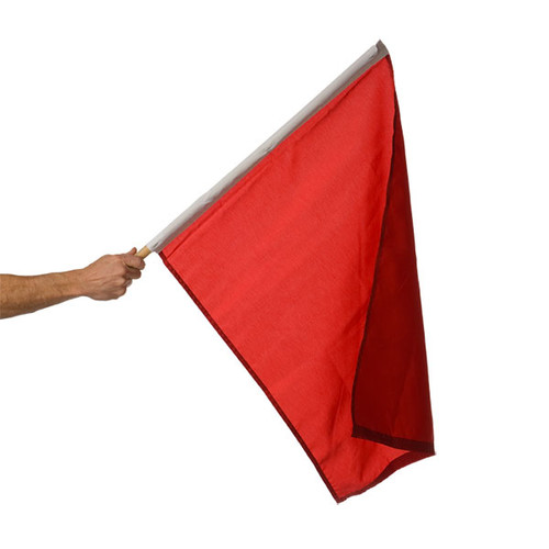 "Stop/Halt Auto Racing Flag 24"" x 30"""