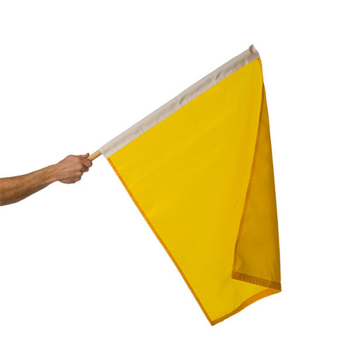 "Caution Auto Racing Flag 24"" x 30"""