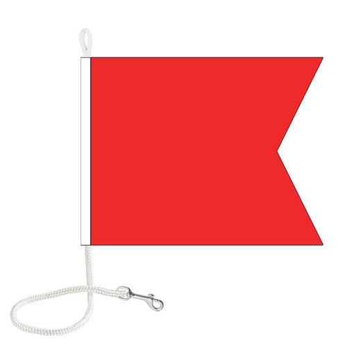 B International Code Signal Flag (Rope and Snap Hook)