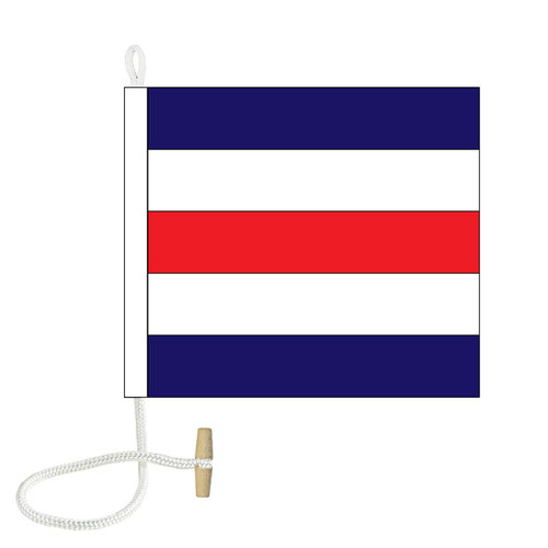C International Code Signal Flag (Rope and Toggle)