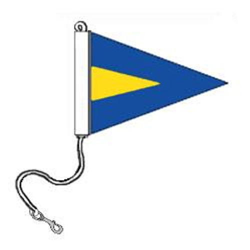 Repeat First Flag (1st Substitute) - With Rope and Snap Hook