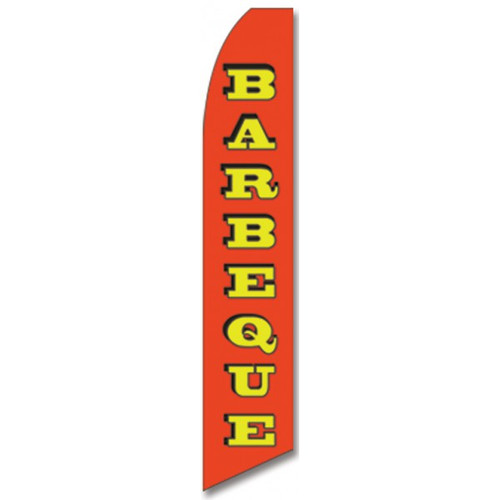Barbecue Feather Flag