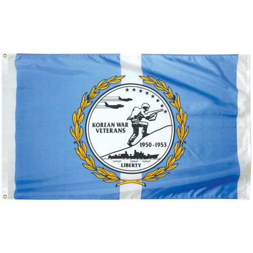 Korean War Veteran Flag