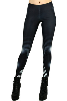 Front side image of DP-1129KDK - Wholesale Premium Graphic Leggings