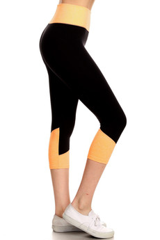 Wholesale Women's Motion Workout Capris