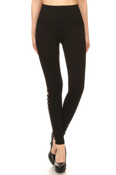 Wholesale Premium Calf Slash Sport Leggings