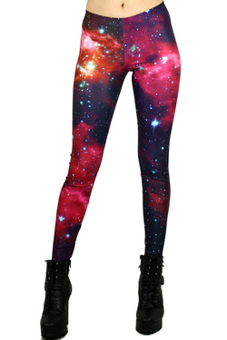 Front side image of DP-1037KDK - Wholesale Premium Graphic Leggings