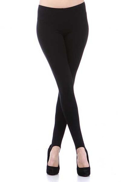 Front side image of Wholesale USA Cotton Stirrup Leggings
