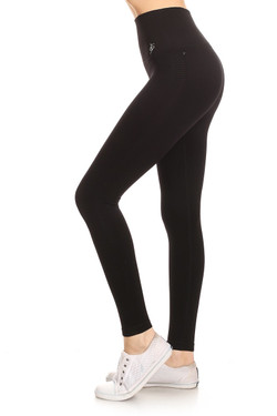 Side image of Wholesale Women's Free Motion Workout Leggings
