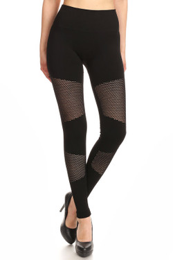 Wholesale Premium Duo Mesh Seamless Leggings