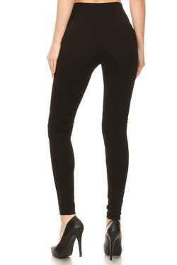 Wholesale Premium Front Calf Slash Sport Leggings