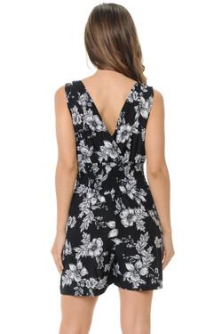 Wholesale Black Floral Esprit Summer Romper