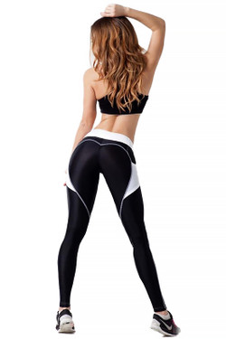 Wholesale Premium Heart Shape Workout Leggings