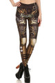 Front side image of DP-1625KDK - Wholesale Premium Graphic Leggings
