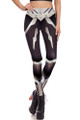 Front side image of DP-1674KDK - Wholesale Premium Graphic Leggings