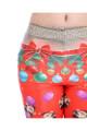 Close up fabric image of DP-1280KDK - Wholesale Premium Graphic Leggings