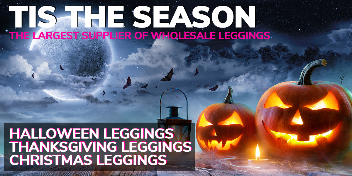 Shop Wholesale Halloween Leggings and Women's Fashion