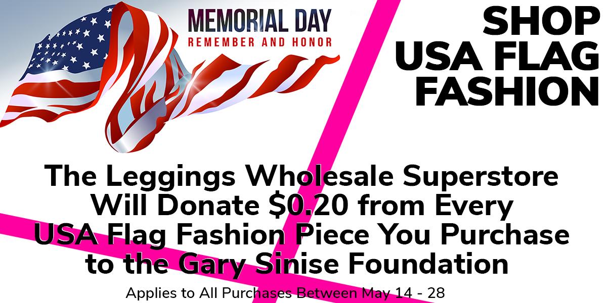 Shop Women's Wholesale USA Flag Leggings and Fashion