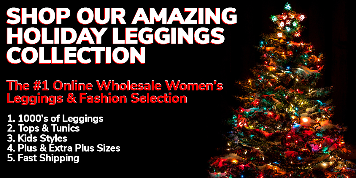 Shop Wholesale Christmas Leggings and Women's Fashion