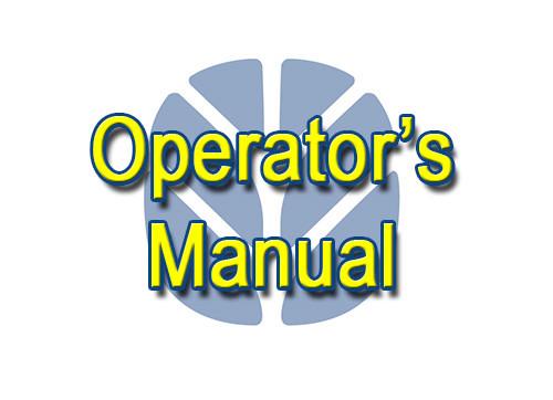 NH 1068/1069 Operator's Manual