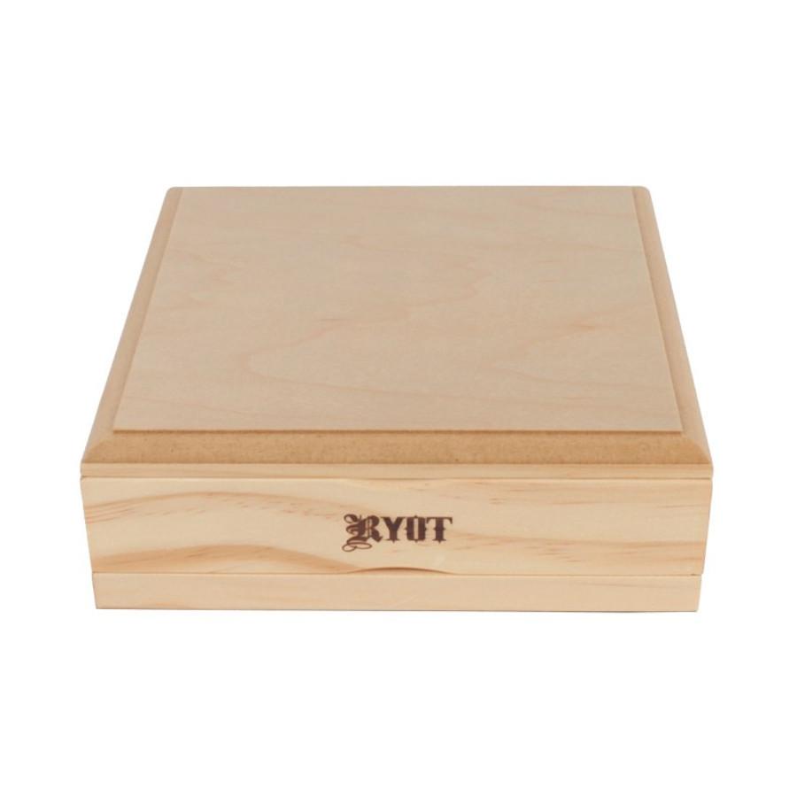 "Shaker Box by RYOT - 7"" x 7"" - Natural Finish"