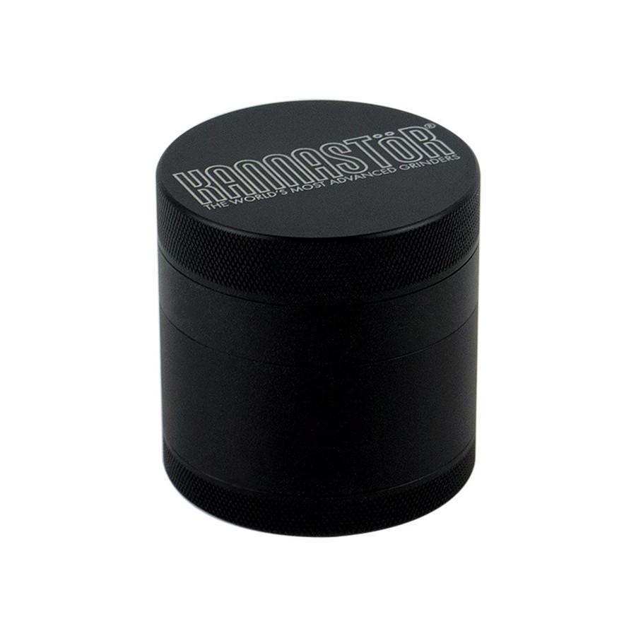 "Kannastor Black Solid Top & Solid Body 4-Piece w/ Easy Clean Screen - 2.5"""