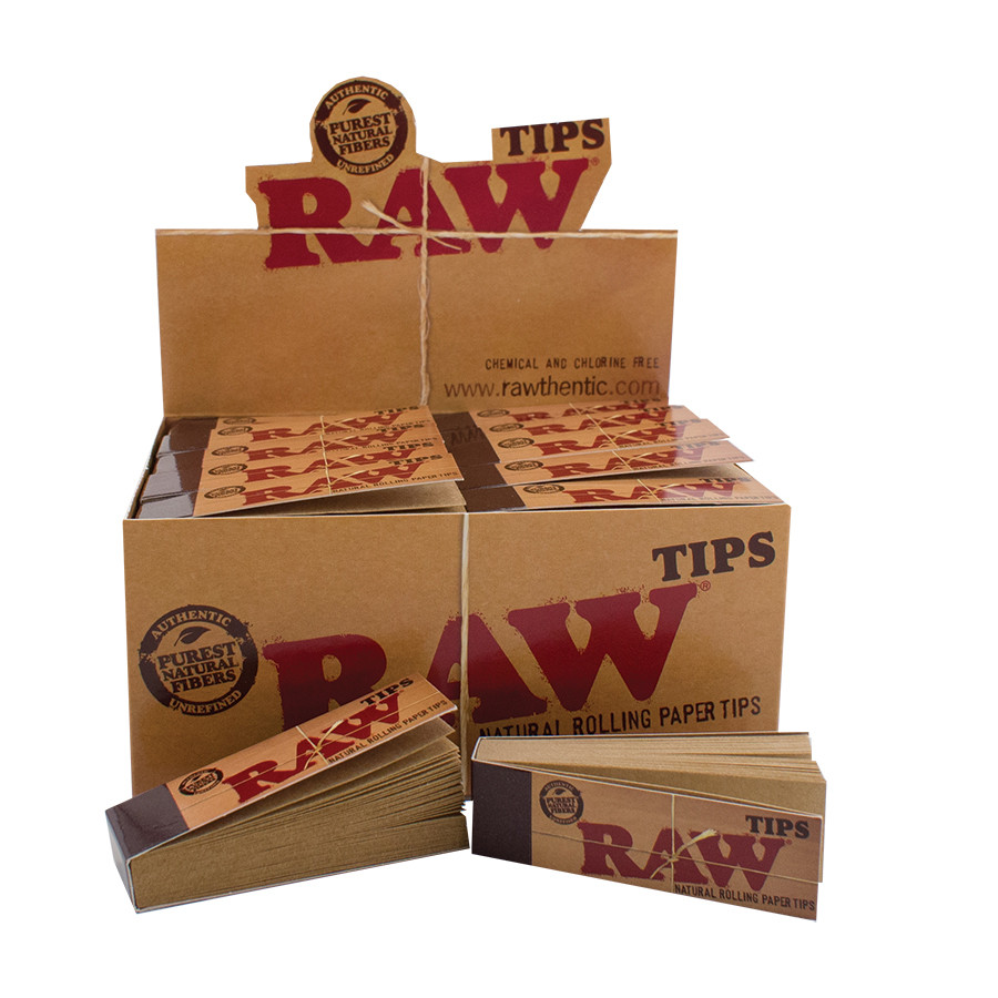 Raw Unbleached Regular Tips