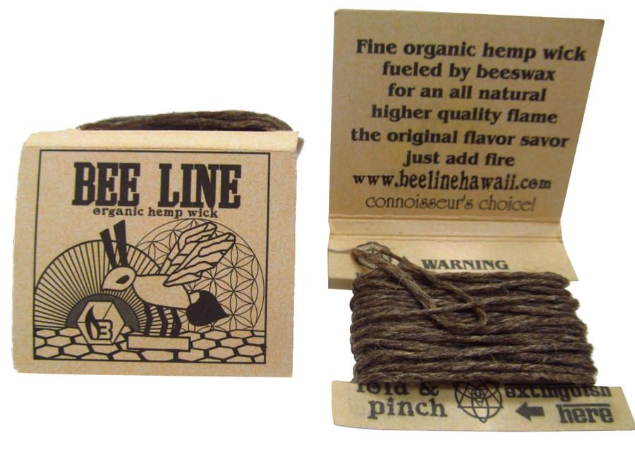 Bee Line Hemp Wick - Thin - Display of 21