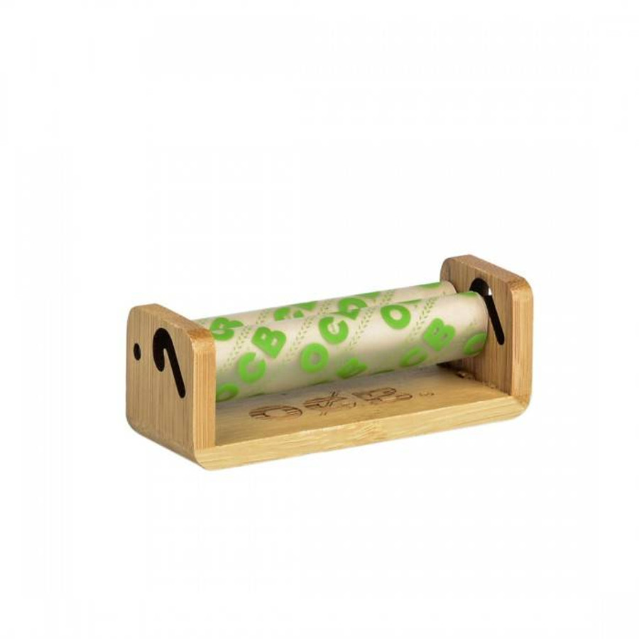 OCB Bamboo Hand Roller - Single Wide