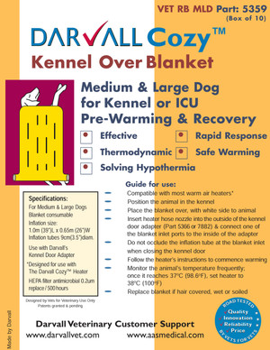 #5359 - Cozy Kennel Over Blanket - Large