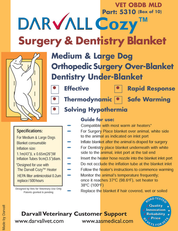 #5310 - Cozy Surgery and Dentistry Blanket