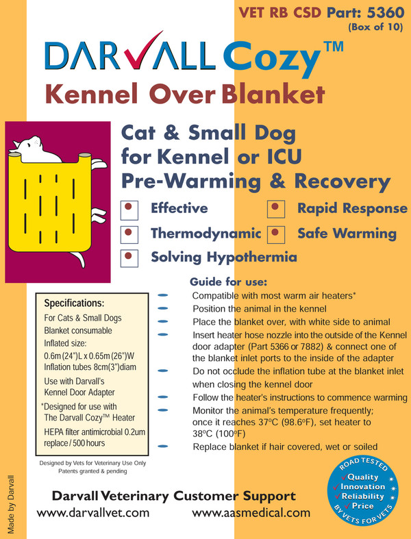 #5360 - Cozy Kennel Over Blanket - Small
