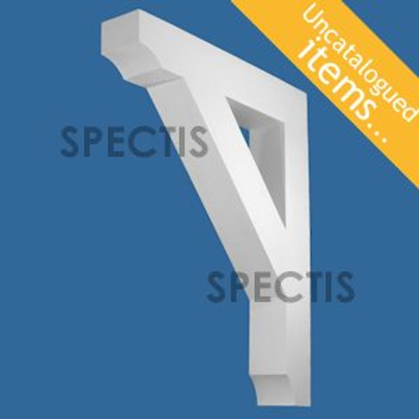 """BL3036 Spectis Eave Block or Bracket 6""""W x 42""""H x 36"""" Projection"""