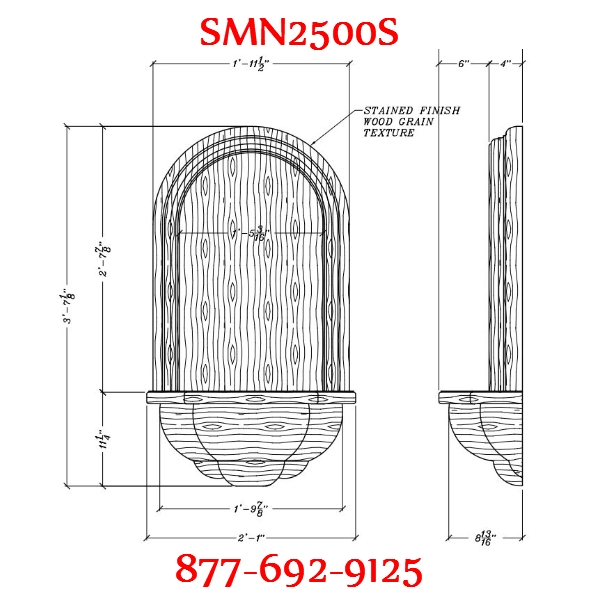 smn2500s-stained-finish-woodgrain-wall-niche.jpg