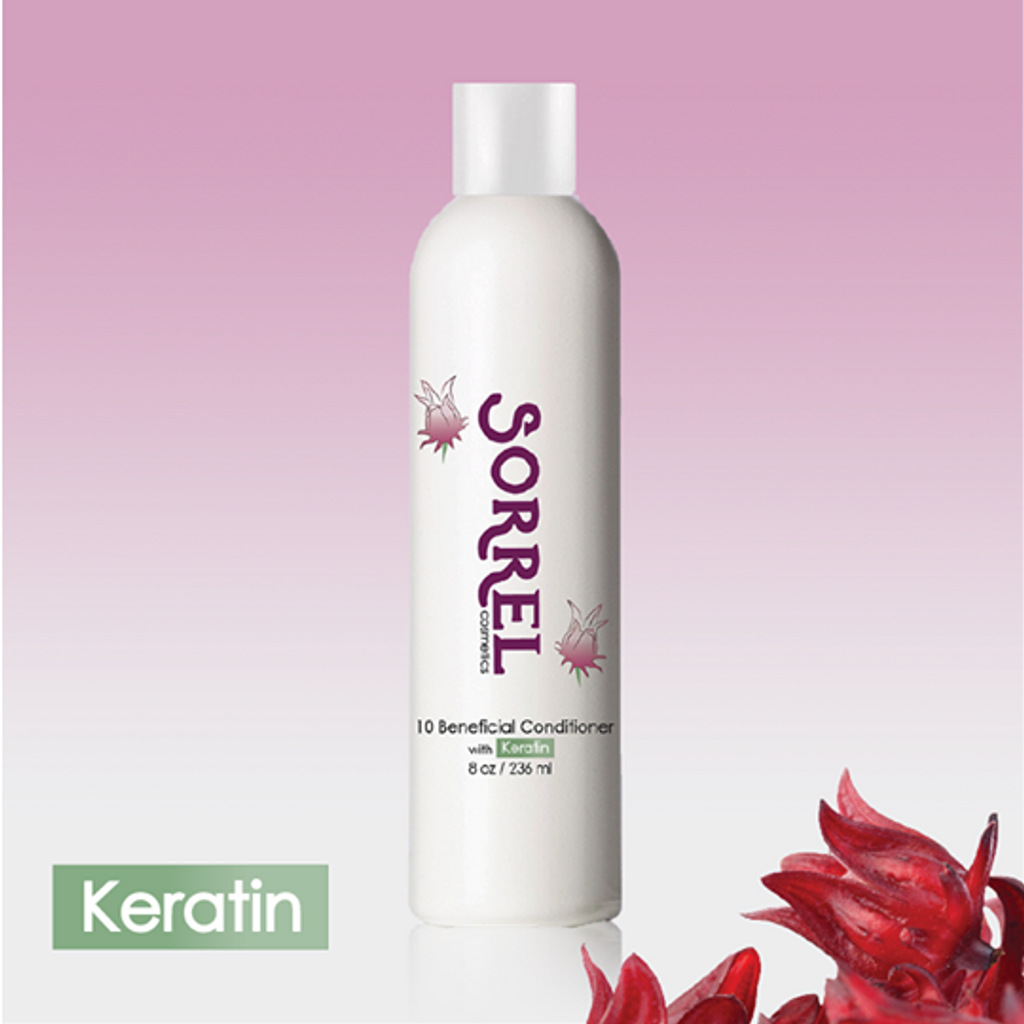 Sorrel Cosmetics 10 Beneficial Conditioner with keratin 8 oz