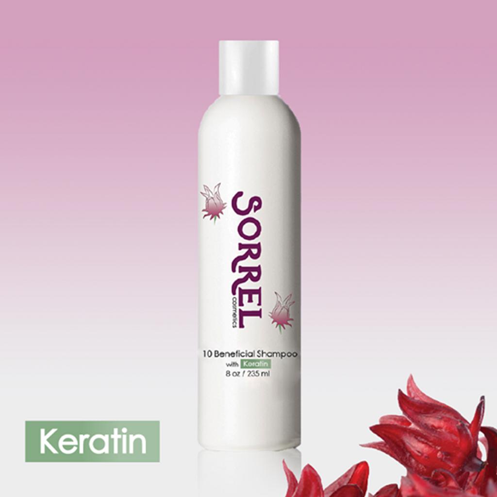 10 Beneficial Shampoo  8 oz